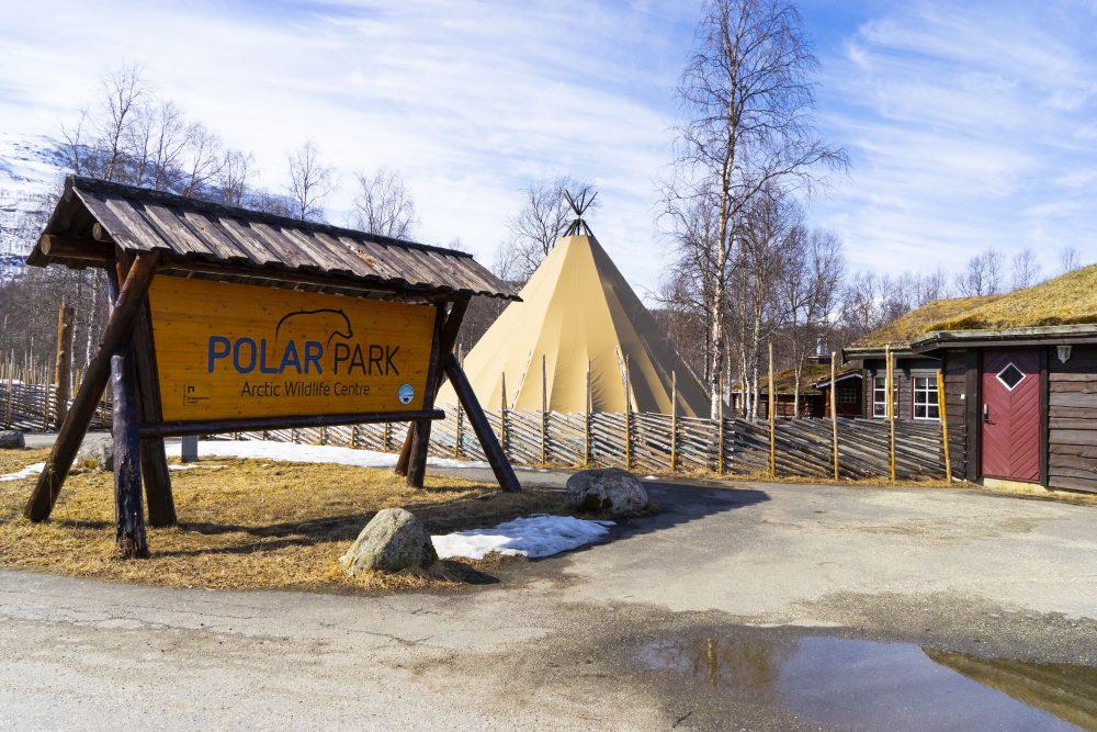 Utendørs lydguide Polar Park Bardu Dyrehage Zoo Arctic Outdoor