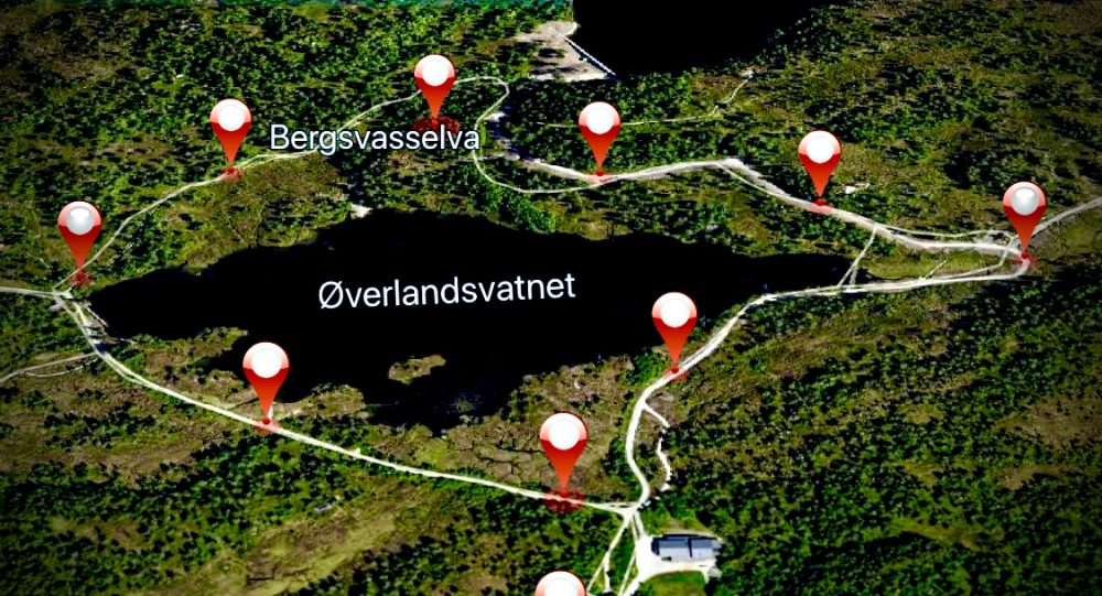 Kart Molde digital rebus Øverlandsvatnet Stikk Ut Voice Of Norway