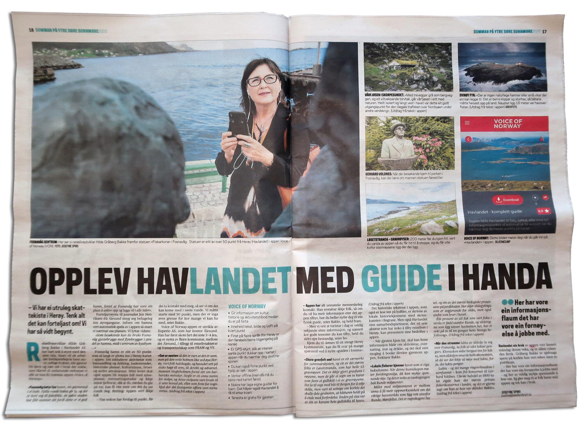 Vestlandsnytt-Havlandet-Fosnavaag-reisegude-reiseapp-lydguide-app-mobilguide_Voice-Of-Norway
