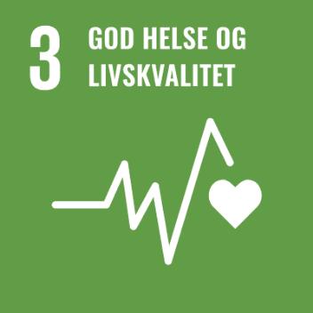 Logo Bærekraftsmål 3