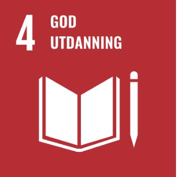 Logo Bærekraftsmål 4