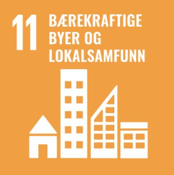 Logo Bærekraftsmål 11