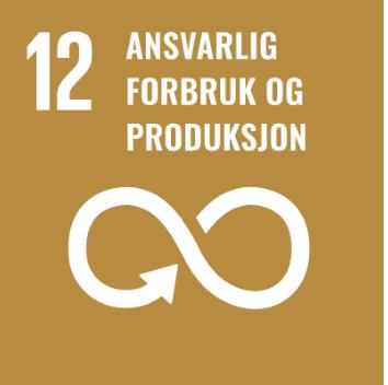 Logo Bærekraftsmål 12