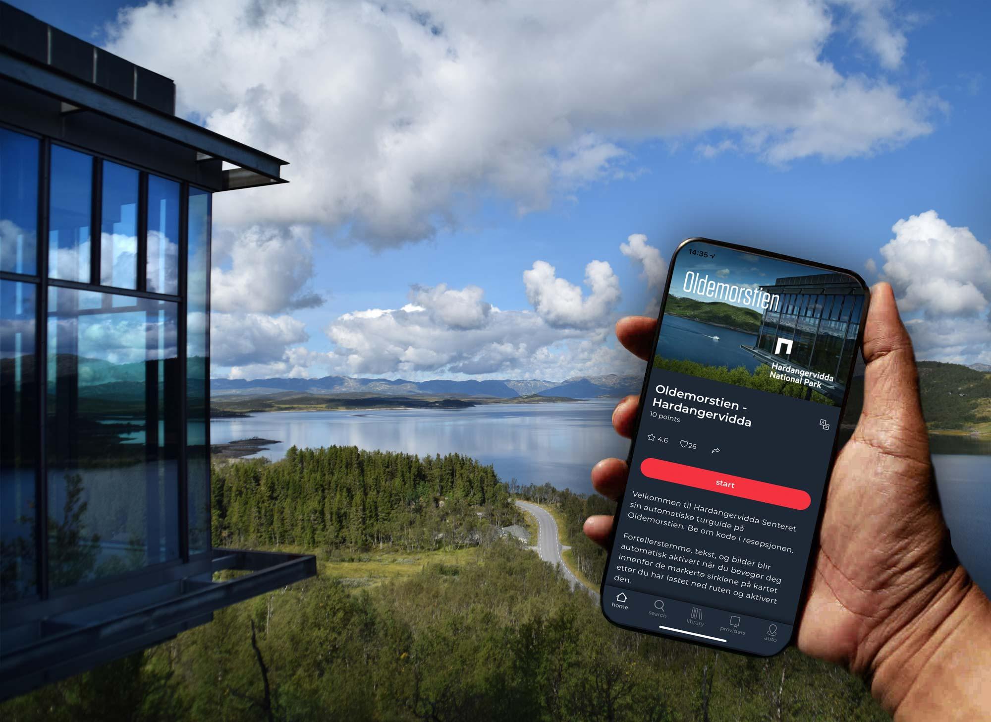 Audioguide hos Hardangervidda Nasjonal Park