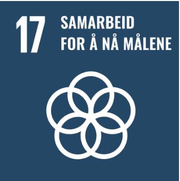 Logo Bærekraftsmål 17