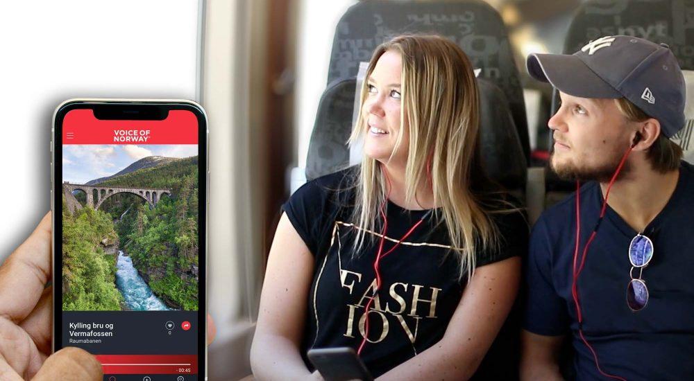 Audioguide buss tog trikk voiceofnorway reiseguide