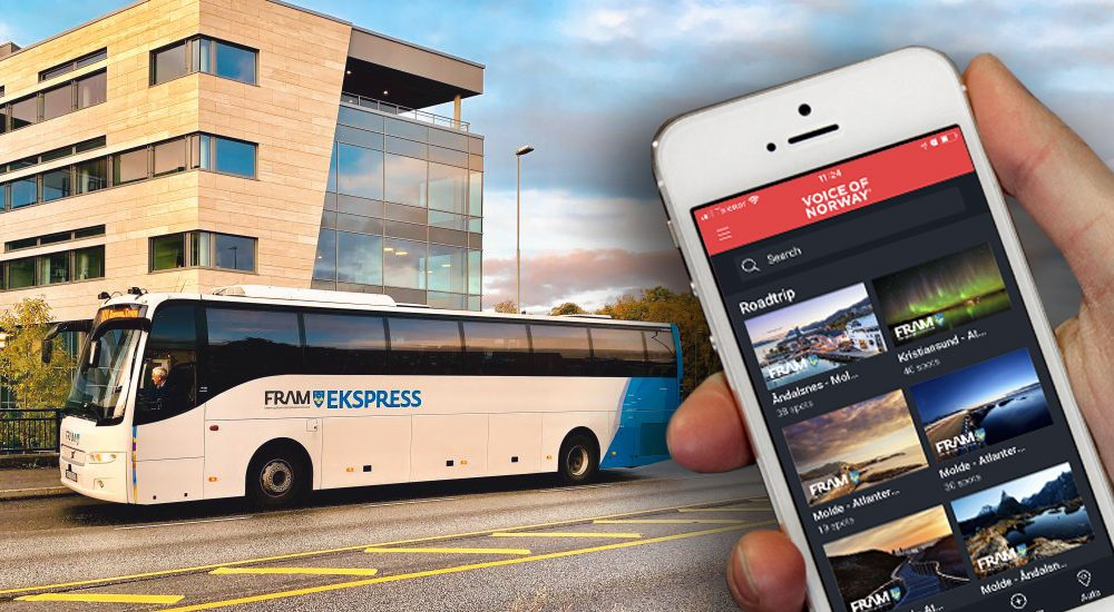 Audioguide reiseguide FRAM BUSS TRAVEL LIKE THE LOCALS VoiceOfNorway