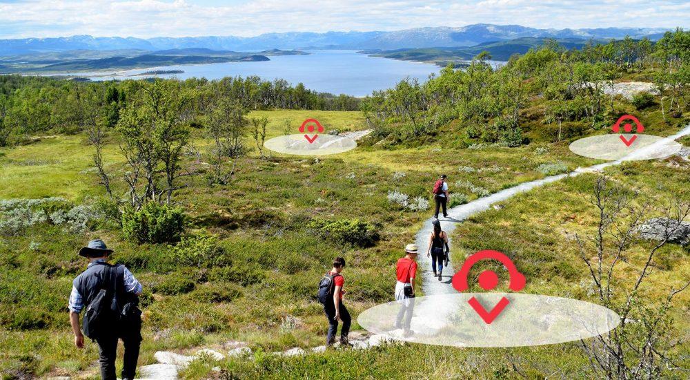 Hardangervidda Nasjonalparksenter Skinnarbu Audioguide Reiseguide Turistguide VoiceofNorway
