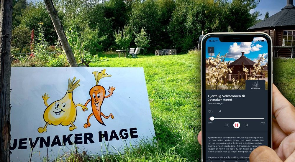 Jevnaker Hage Voice Of Norway audioguide Experio