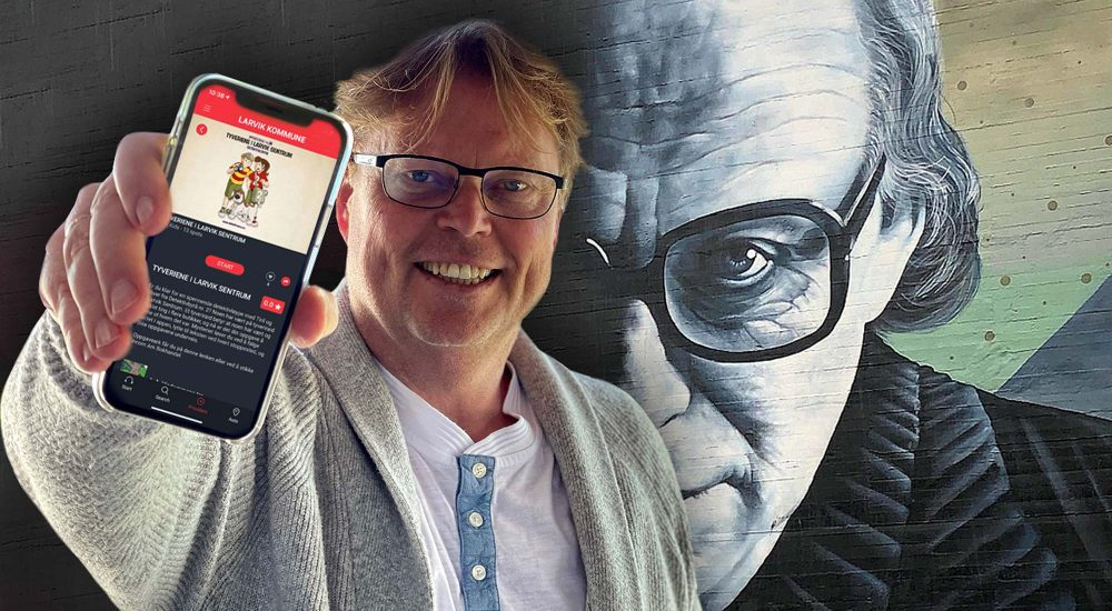 Jorn Lier Horst Voice Of Norway Experio audioguide