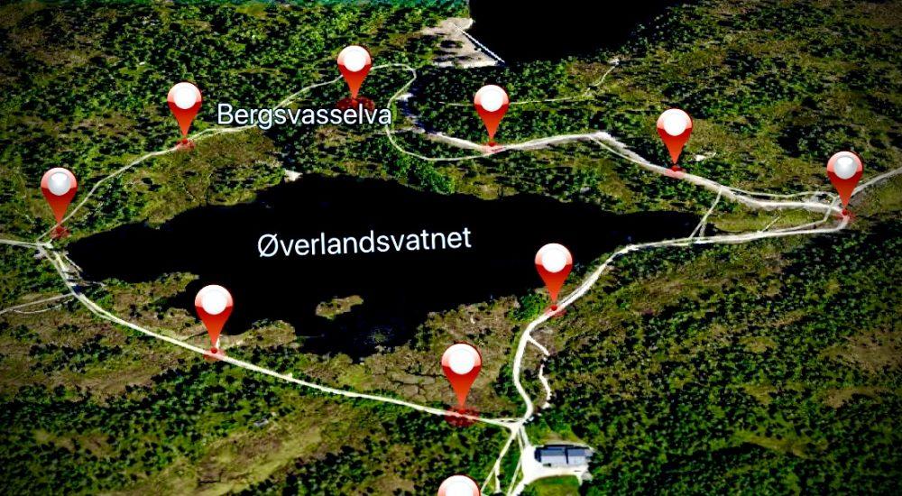 Kart Molde digital rebus Øverlandsvatnet Stikk Ut Voice Of Norway