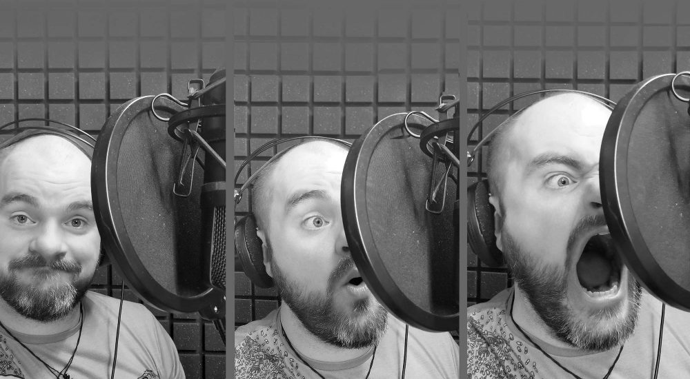 Sean Voiceofnorway audioguide fargelegger med stemmen