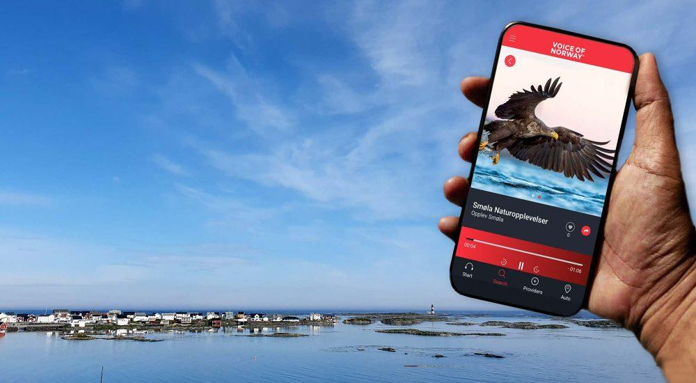 Smola Voiceofnorway audioguide lydguide turistguide reiseguide