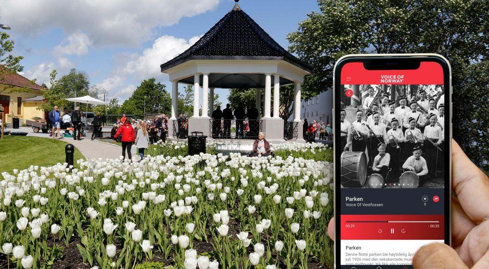 Vestfossen Voice Of Norway audioguide