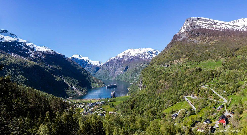 Voice of Norway - Geiranger. Foto: Einar Engdal