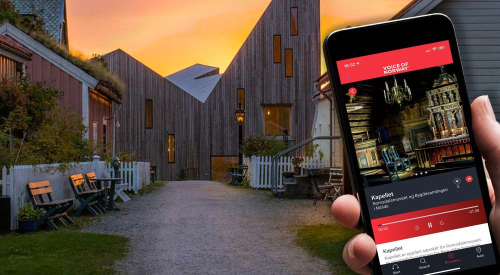 Romsdalsmuseet Molde Voice Of Norway audioguide lydguide reiseguide